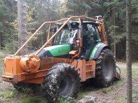 Deutz-Fahr M130 Лесной трактор
