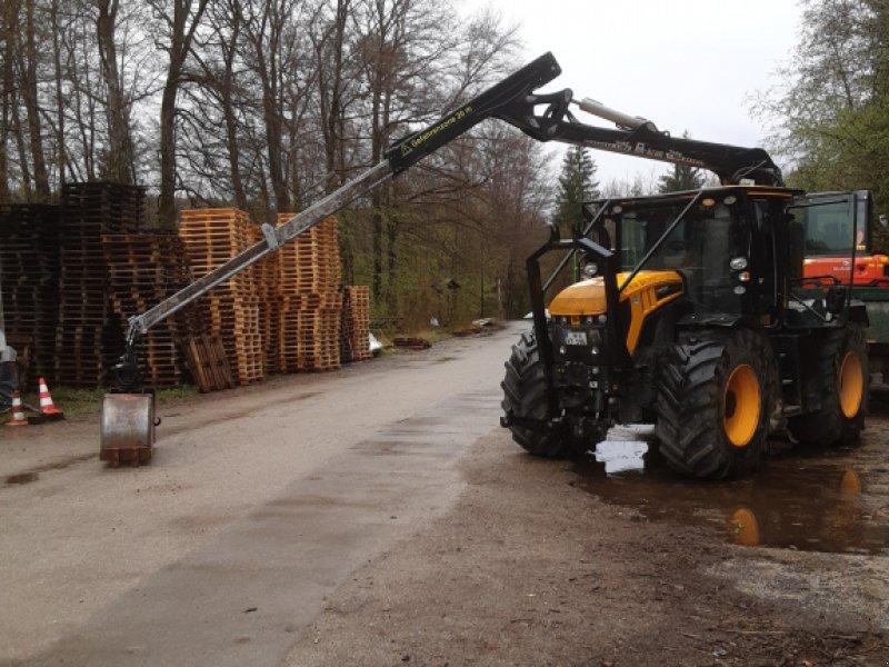 Forstschlepper des Typs JCB Fastrac 4190, Gebrauchtmaschine in Baierbrunn (Bild 1)