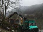 Forstschlepper des Typs Mercedes-Benz U2100 в Binau