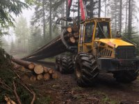 Welte W190K Tractor Forestal