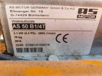 AS-Motor AS 53 B4 aljnövényzetirtó trimmer