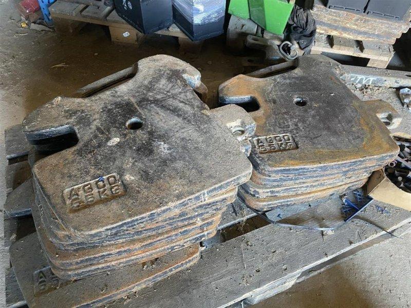 Frontgewicht tipa Agco 800KG Løse 55 kg vægte, Gebrauchtmaschine u Vejle (Slika 1)
