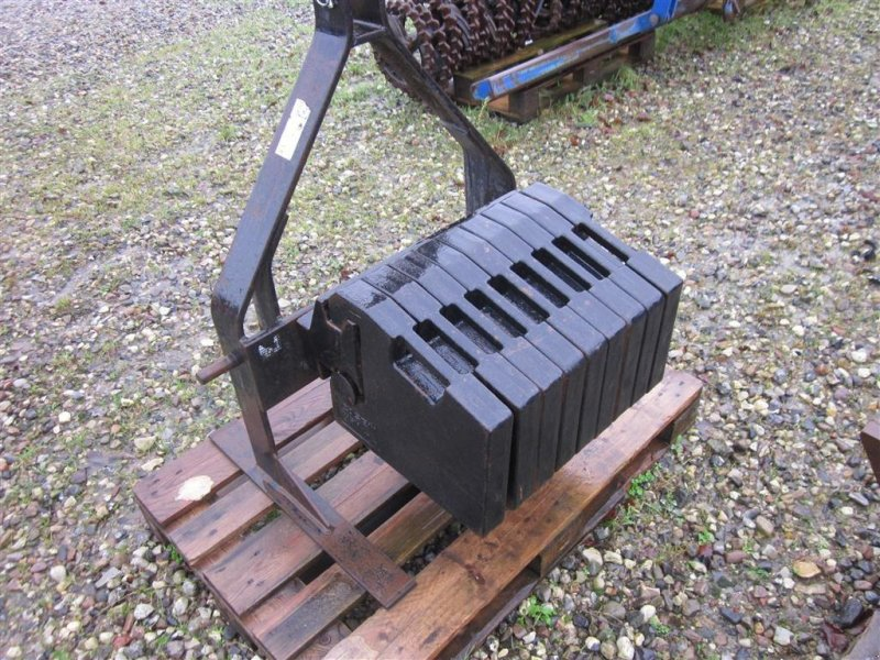 Frontgewicht typu Case IH 500 kg på 3 punktramme, Gebrauchtmaschine v Glamsbjerg (Obrázek 1)