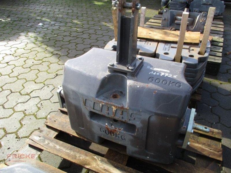 Frontgewicht des Typs CLAAS 600KG, Gebrauchtmaschine in Bockel - Gyhum (Bild 1)