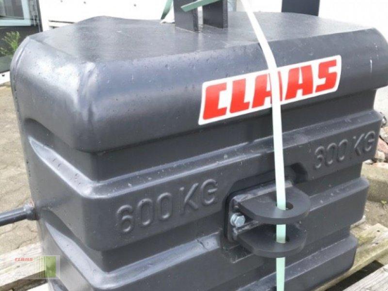 Frontgewicht типа CLAAS Beton-Gewicht 600 kg, Neumaschine в Risum-Lindholm (Фотография 5)