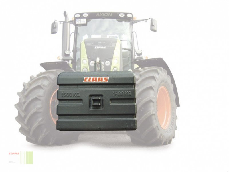 Frontgewicht типа CLAAS Beton-Gewicht 600 kg, Neumaschine в Risum-Lindholm (Фотография 3)