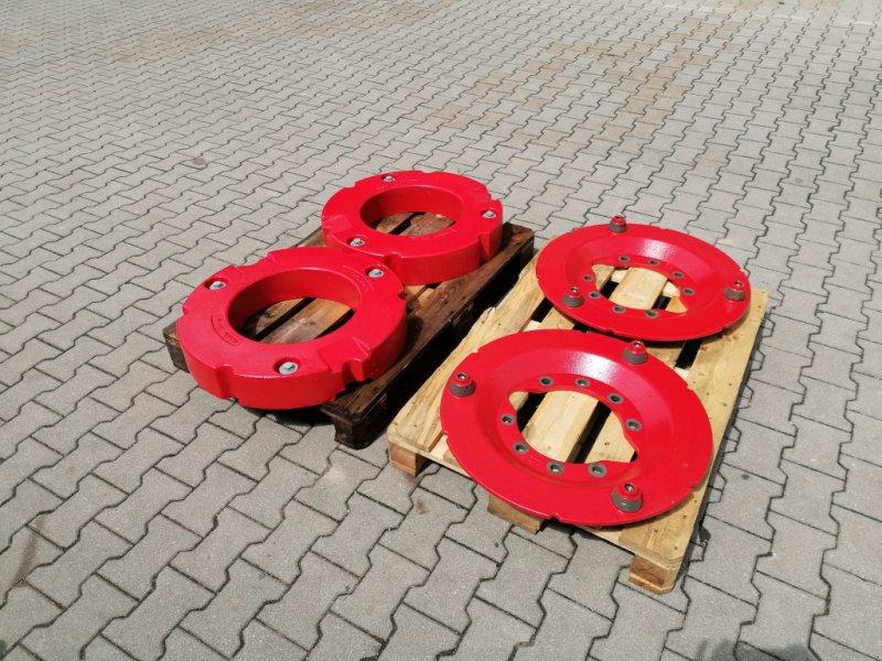 Frontgewicht tipa Fendt Radgewichte 2x 200kg mit 10 Loch Adaterplatten für 700-900 Vario, Neumaschine u Tirschenreuth (Slika 1)