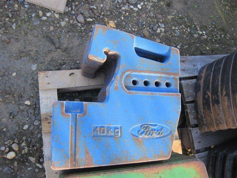 Frontgewicht typu Ford 40 kg vægte, Gebrauchtmaschine w Aabenraa (Zdjęcie 1)