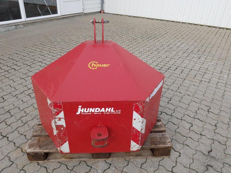 Frontgewicht типа Hauer 1000 KG RØD, Gebrauchtmaschine в Thisted (Фотография 1)
