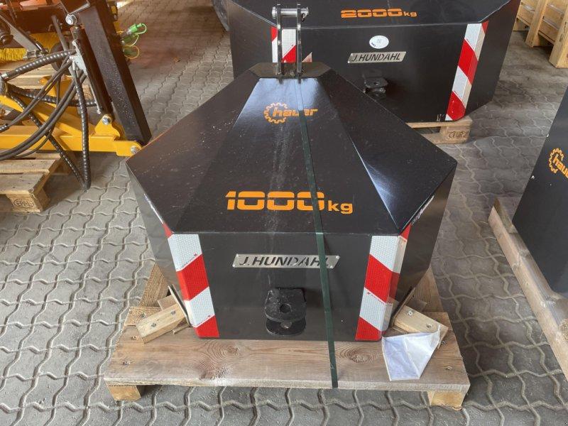 Frontgewicht типа Hauer 1000KG SORT, Gebrauchtmaschine в Thisted (Фотография 1)