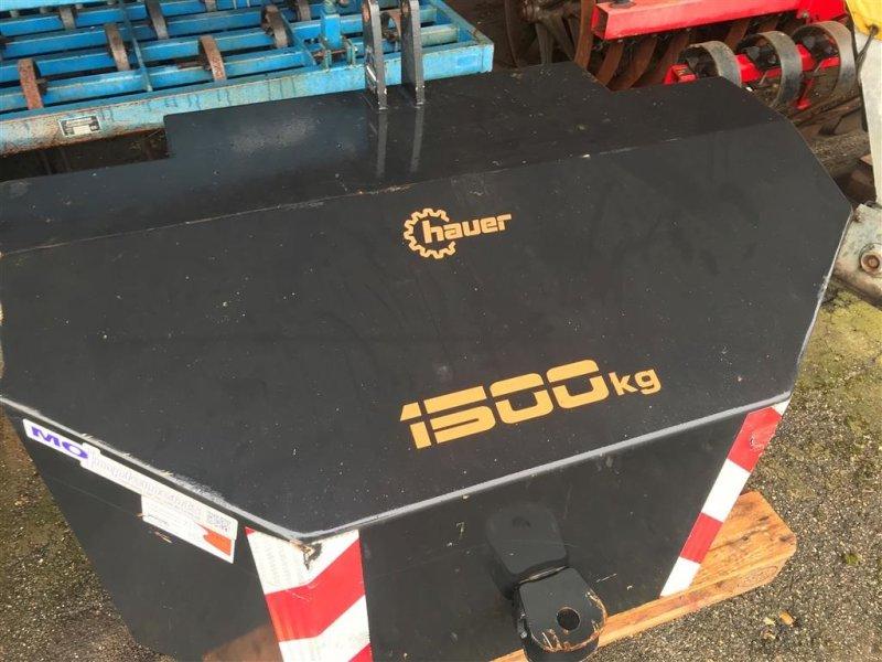 Frontgewicht des Typs Hauer 1500 kg, Gebrauchtmaschine in Vinderup (Bild 1)
