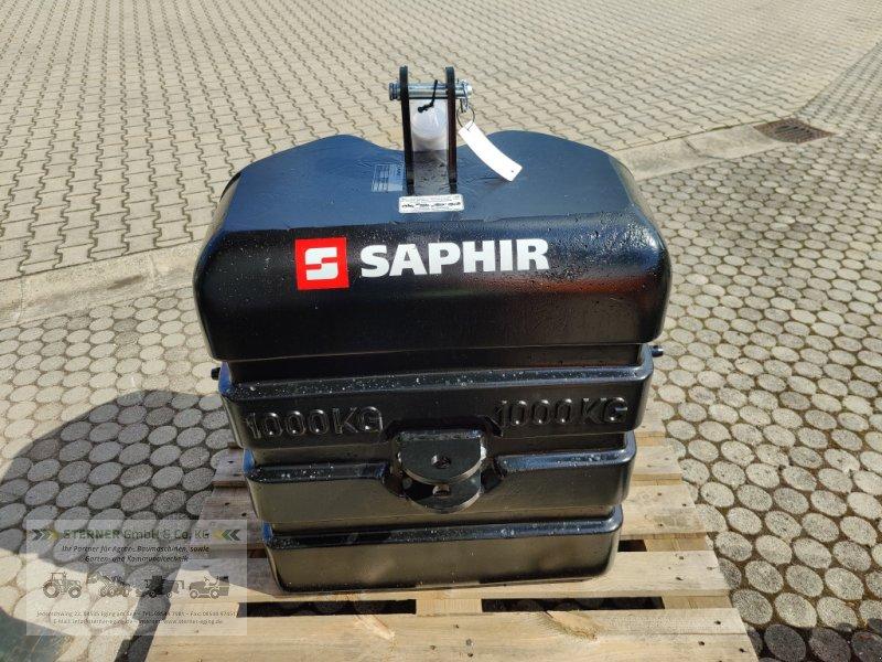 Frontgewicht типа Saphir Stahlbetongewicht 1000 ST, Neumaschine в Eging am See (Фотография 1)