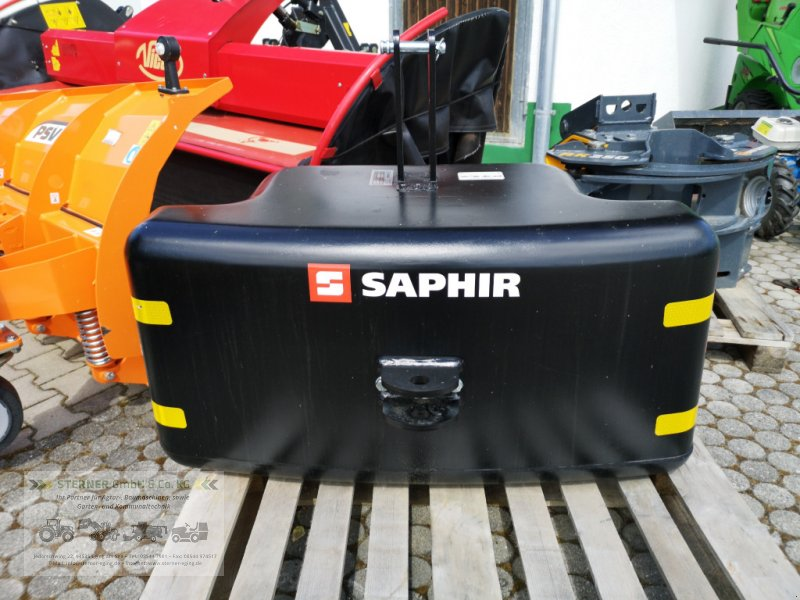 Frontgewicht типа Saphir Stahlbetongewicht 750 TOP, Neumaschine в Eging am See (Фотография 1)