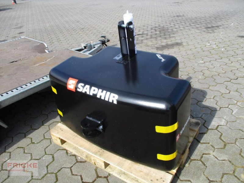 Frontgewicht des Typs Saphir Top 1050 kg, Gebrauchtmaschine in Bockel - Gyhum (Bild 1)