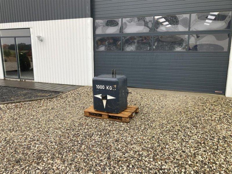 Frontgewicht типа Sonstige 1000 kg vægt som ny, Gebrauchtmaschine в Thorsø (Фотография 1)