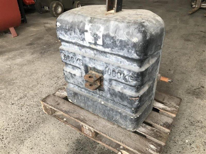 Frontgewicht типа Sonstige 1000 kg, Gebrauchtmaschine в Lemvig (Фотография 1)