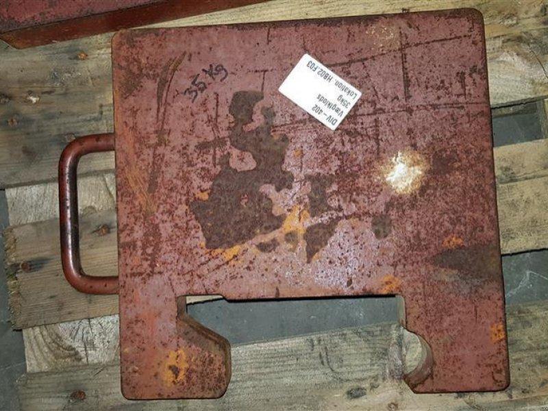 Frontgewicht типа Sonstige vægtklodser 35kg, Gebrauchtmaschine в Hemmet (Фотография 2)