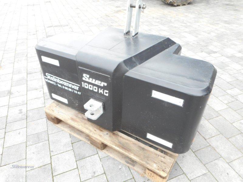 Frontgewicht типа Suer 1000kg, Gebrauchtmaschine в Wörnitz (Фотография 1)