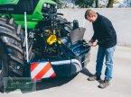 Frontgewicht tip TractorBumper Front-Unterfahrschutz Stoßfänger Bumper mit Staukiste in Barbing