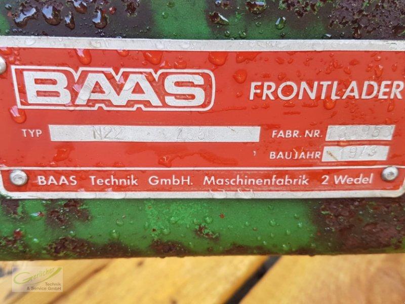 Frontlader des Typs Baas N 22, Gebrauchtmaschine in Neustadt (Bild 6)