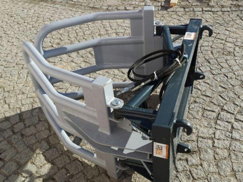 Frontlader des Typs Big Dutchman Rundballengreifer 160 cm mit Euro Aufnahme, Neumaschine in Brunn an der Wild (Bild 3)