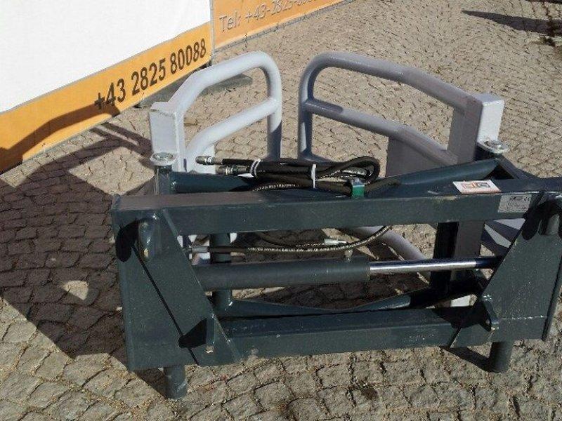 Frontlader des Typs Big Dutchman Rundballengreifer 160 cm mit Euro Aufnahme, Neumaschine in Brunn an der Wild (Bild 1)