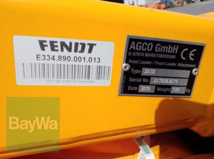 Frontlader типа Fendt Cargo 3X70 DW, Gebrauchtmaschine в Bamberg (Фотография 10)