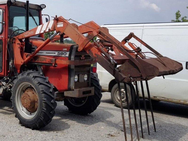 Frontlader typu Mailleux MX 260, Gebrauchtmaschine v CHAILLOUÉ (Obrázok 1)