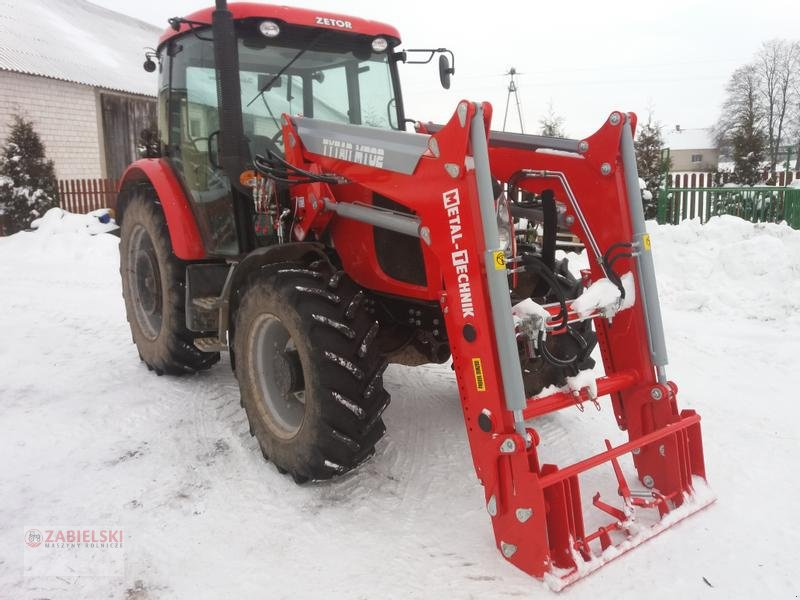 Frontlader типа Metal Technik Frontlader für ZETOR PROXIMA POWER 90, 100, 110 / Ładowacz czołowy do ZETOR PROXIMA POWER 90, 100, 110, Neumaschine в Jedwabne (Фотография 1)