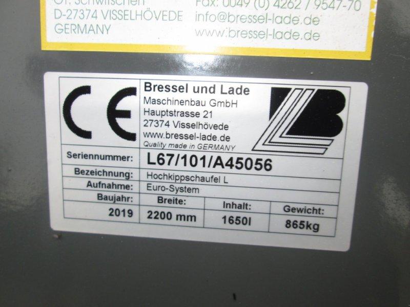 Frontladerzubehör des Typs Bressel & Lade Hochkippschaufel L 2200 L67, Gebrauchtmaschine in Wülfershausen (Bild 6)