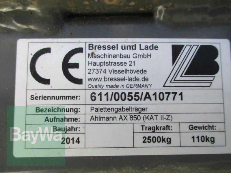 Frontladerzubehör des Typs Bressel & Lade Pallettengabelträger, Gebrauchtmaschine in Bamberg (Bild 10)