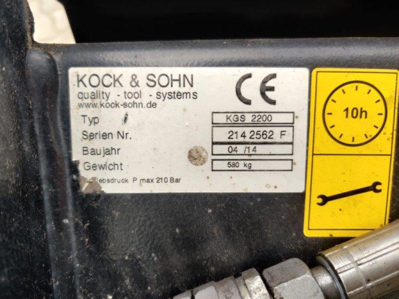 Frontladerzubehör a típus Kock & Sohn KOCK & SOHN 1,80M GREIFSCHAUFEL, Gebrauchtmaschine ekkor: Sittensen (Kép 2)