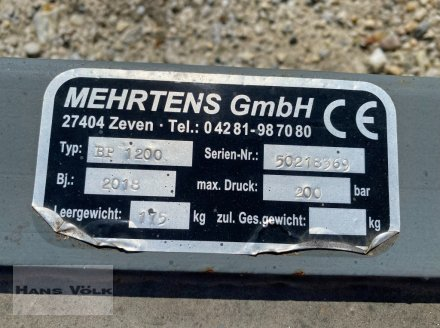 Frontladerzubehör des Typs Mehrtens BP 1200, Gebrauchtmaschine in Eching (Bild 4)
