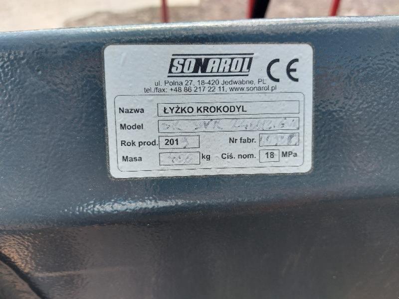 Frontladerzubehör типа Sonstige SONAROL 2m40, Gebrauchtmaschine в VESOUL (Фотография 4)