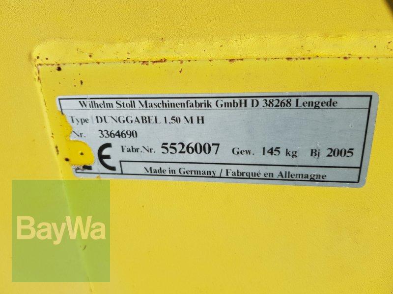 Frontladerzubehör des Typs Stoll Dunggabel 1,50m  M H, Gebrauchtmaschine in Bamberg (Bild 5)