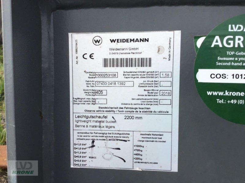 Frontladerzubehör типа Weidemann  2200 mm Leichtgut, Gebrauchtmaschine в Alt-Mölln (Фотография 5)