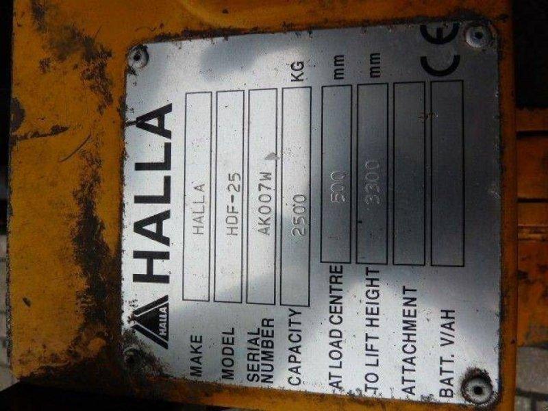 Frontstapler типа Halla HDF 25, Gebrauchtmaschine в Roosendaal (Фотография 7)
