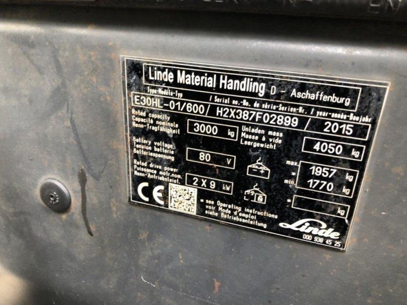 Frontstapler типа Linde E30HL-01/600, Gebrauchtmaschine в Werkendam (Фотография 3)