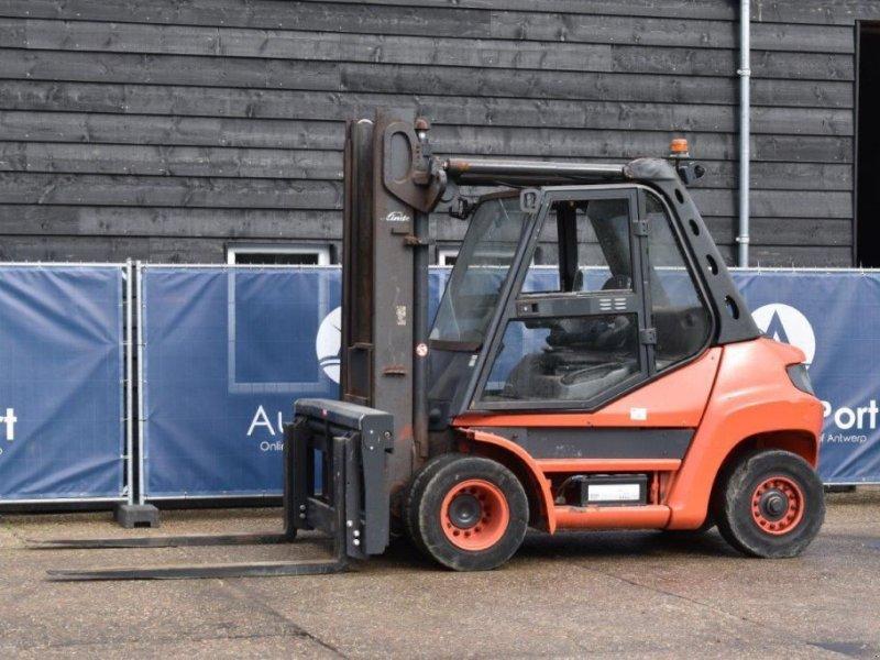 Frontstapler типа Linde Heftruck H80D-02 Diesel 8000kg H80D-02, Gebrauchtmaschine в Antwerpen (Фотография 1)