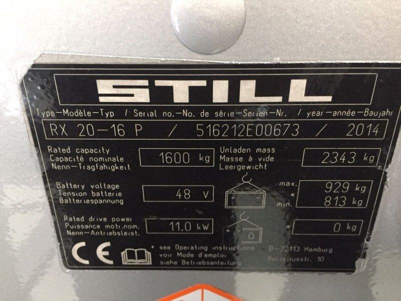 Frontstapler typu Still RX20-16P 3mast sideshift 4e vent, Gebrauchtmaschine w Roosendaal (Zdjęcie 10)