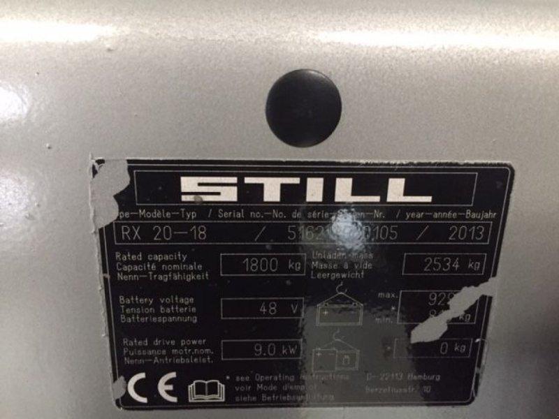 Frontstapler typu Still RX20-18 3-mast side-shift, Gebrauchtmaschine w Roosendaal (Zdjęcie 9)