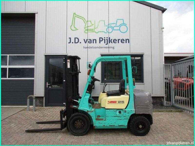 Frontstapler типа Yang FD25, Gebrauchtmaschine в IJsselmuiden (Фотография 1)