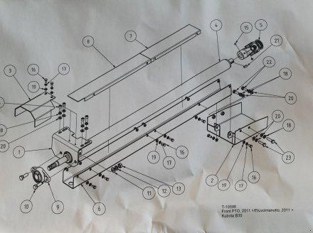 Frontzapfwelle типа Kubota B2230-B2530, B2350-B2650, Neumaschine в Olpe (Фотография 2)