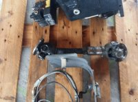 Sauter Fronthydraulik + Frontzapfwelle vývodový hriadeľ – predný