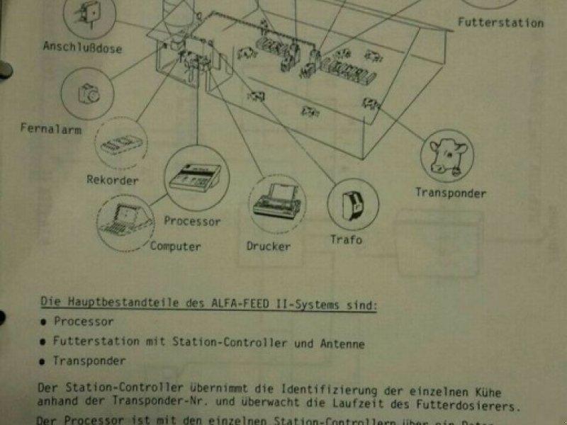 Futterdosiergerät типа Alfa Laval Kraftfutterstation, Gebrauchtmaschine в Rain (Фотография 1)