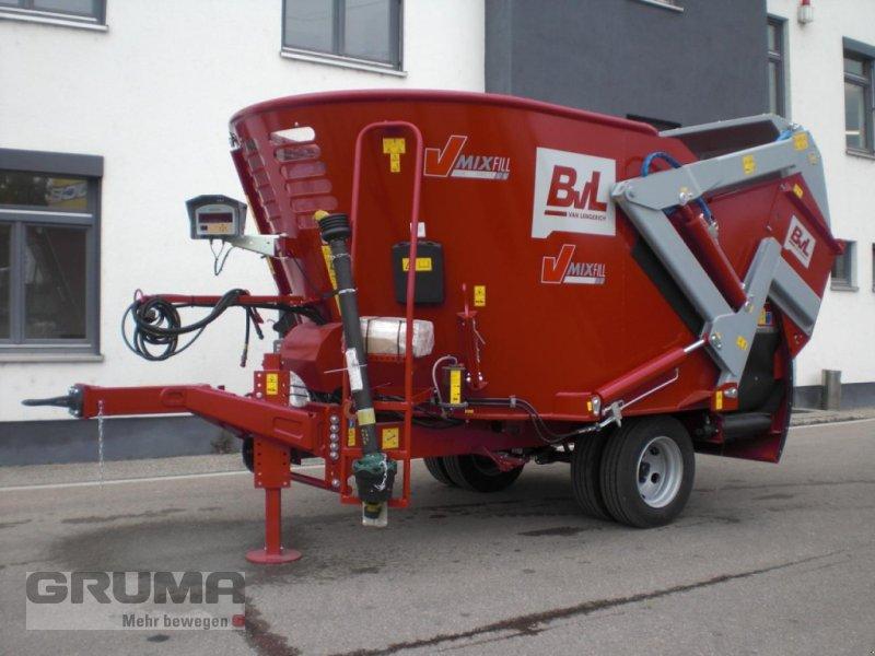 Futtermischwagen des Typs BVL V-Mix Fill Plus 10N - 1S LS, Neumaschine in Friedberg-Derching (Bild 1)