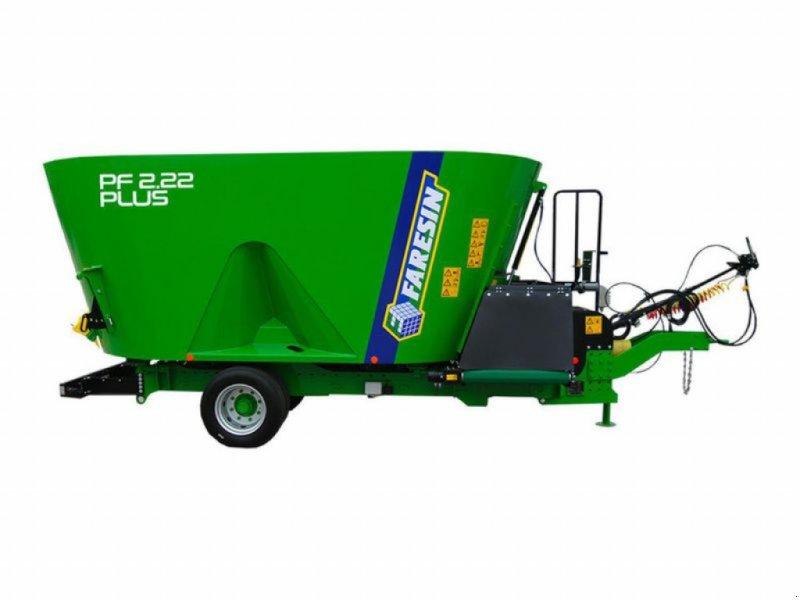 Futtermischwagen des Typs Faresin MAGNUM PF2.14 PLUS, Neumaschine in Obersöchering (Bild 1)