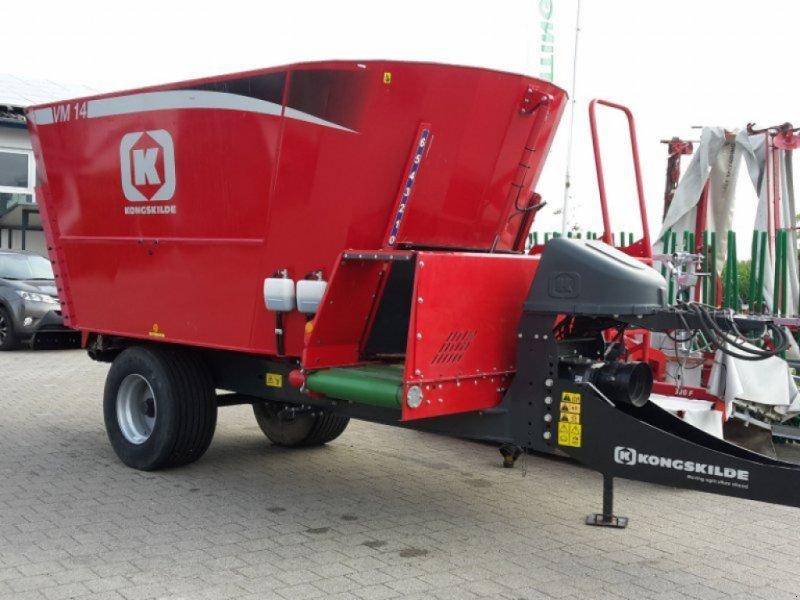 Futtermischwagen des Typs Kongskilde VM 14-2 SB, Neumaschine in Treuchtlingen (Bild 1)