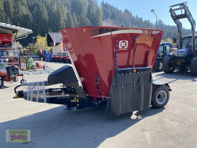 Futtermischwagen des Typs Kongskilde VM 8-1SL  JF-Stoll, Neumaschine in Kötschach (Bild 1)