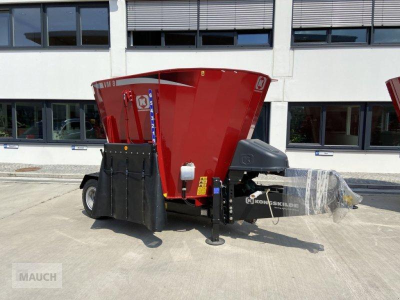 Futtermischwagen des Typs Kongskilde VM 8 SL, Neumaschine in Burgkirchen (Bild 1)
